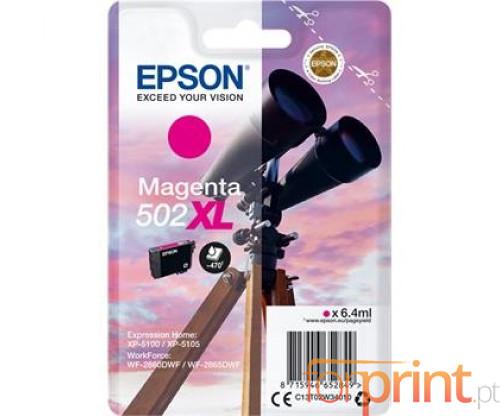 Tinteiro Original Epson T02W3 / 502XL Magenta 6.4ml