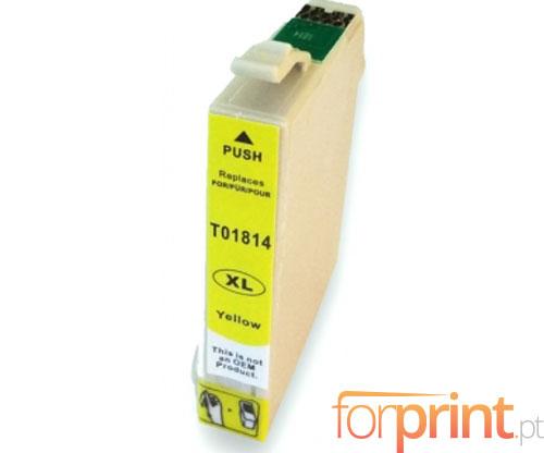 Tinteiro Compativel Epson T1804 / T1814 Amarelo 13ml