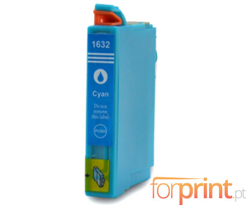 Tinteiro Compativel Epson T1622 / T1632 Cyan 11.6ml