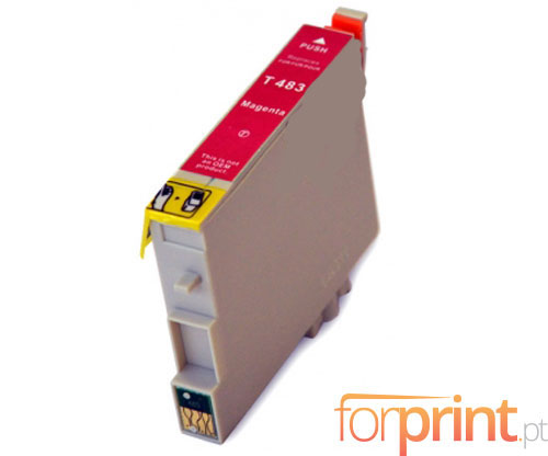 Tinteiro Compativel Epson T0483 Magenta 18ml