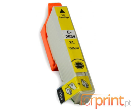 Tinteiro Compativel Epson T2614 / T2634 Amarelo 13ml