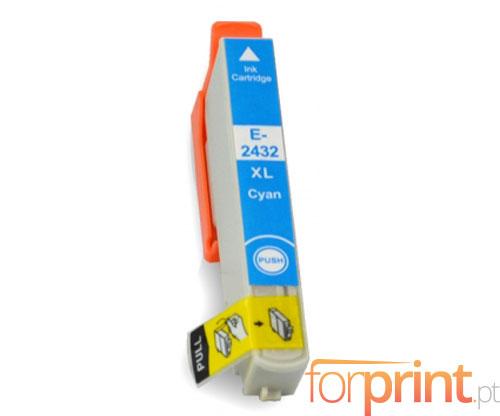 Tinteiro Compativel Epson T2422 / T2432 Cyan 13ml