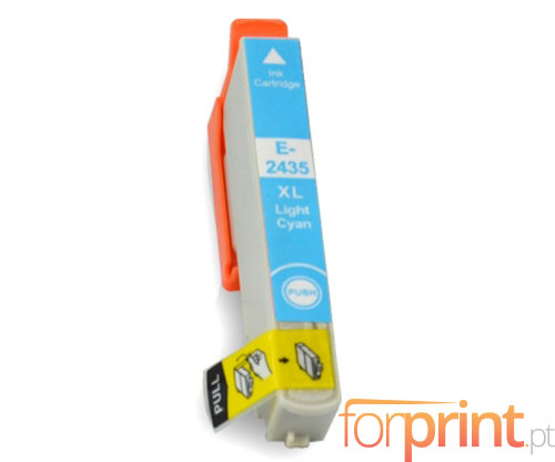 Tinteiro Compativel Epson T2425 / T2435 Cyan Claro 13ml