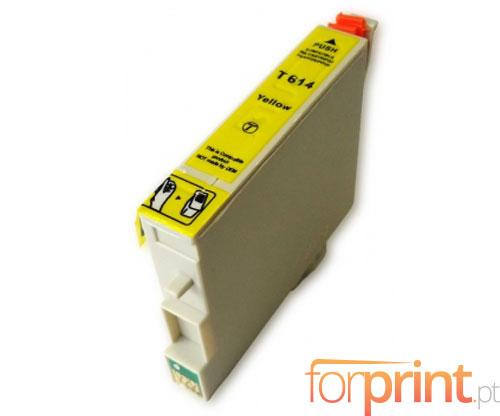 Tinteiro Compatível Epson T0614 Amarelo 15ml