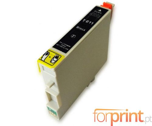 Tinteiro Compatível Epson T0611 Preto 17ml