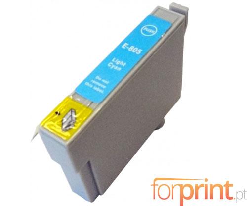 Tinteiro Compativel Epson T0805 Cyan Claro 13ml