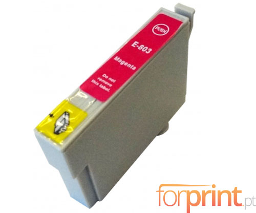 Tinteiro Compativel Epson T0803 Magenta 13ml