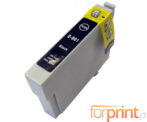 Tinteiro Compativel Epson T0801 Preto 13ml