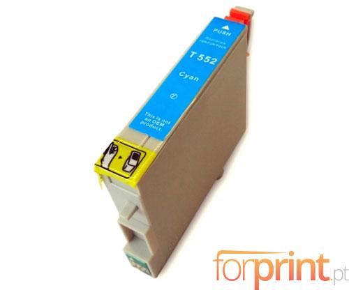 Tinteiro Compatível Epson T0552 Cyan 16ml