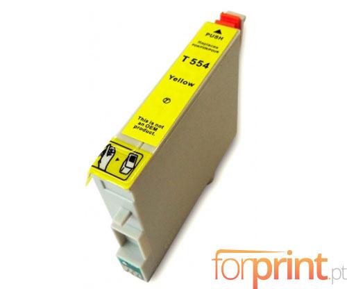 Tinteiro Compatível Epson T0554 Amarelo 16ml