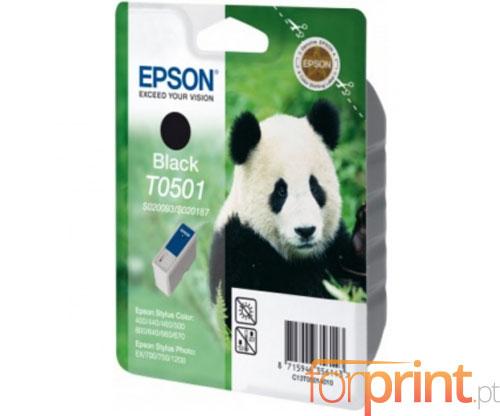 Tinteiro Original Epson T0501 Preto 15ml