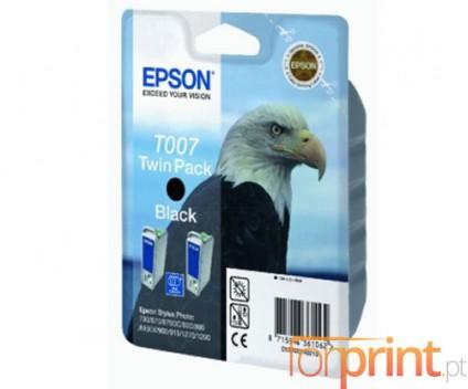 2 Tinteiros Originais, Epson T007 Preto 16ml