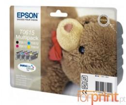 4 Tinteiros Originais, Epson T0611-T0614 8ml