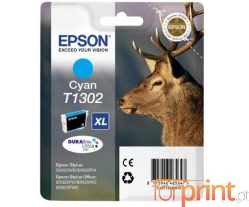 Tinteiro Original Epson T1302 Cyan 10.1ml ~ 755 Paginas