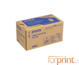 Toner Original Epson S050602 Amarelo ~ 7.500 Paginas