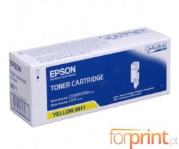 Toner Original Epson S050611 Amarelo ~ 1.400 Paginas