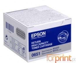 Toner Original Epson S050651 Preto ~ 2.200 Paginas