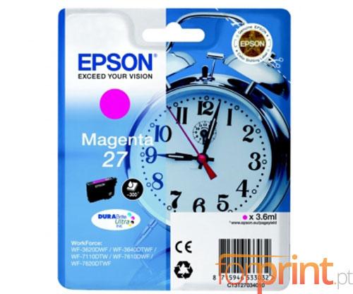 Tinteiro Original Epson T2703 / 27 Magenta 3.6ml
