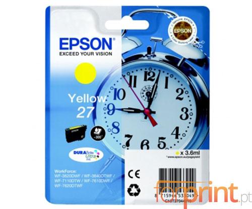 Tinteiro Original Epson T2704 / 27 Amarelo 3.6ml