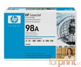 Toner Original HP 98A Preto ~ 6.800 Paginas