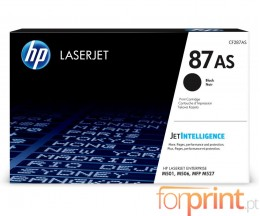 Toner Original HP 87AS Preto ~ 6.000 Paginas