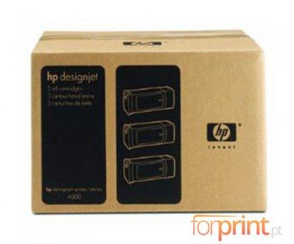 3 Tinteiros Originais, HP 90 Preto 775ml