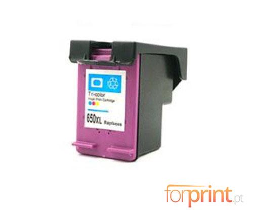 Tinteiro Compativel HP 650 XL Cor 17ml