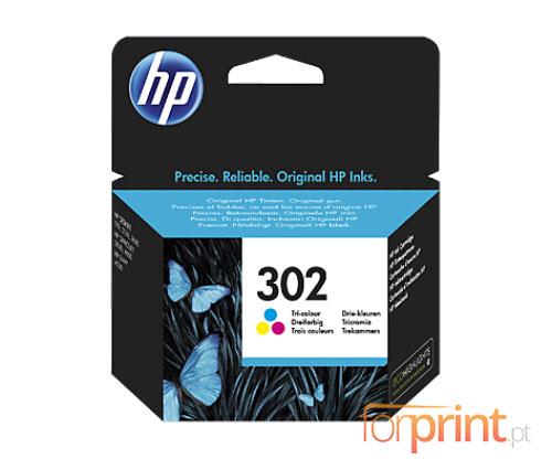 Tinteiro Original HP 302 Cor 4ml ~ 165 Paginas