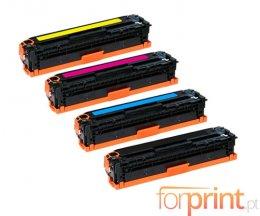 4 Toners Compativeis, HP 410X Preto + Cor ~ 6.500 / 5.000 Paginas