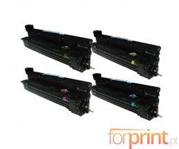 4 Tambores Compativeis, HP 824A Preto + Cor ~ 35.000 Paginas