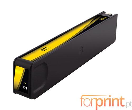 Tinteiro Compativel HP 971 XL Amarelo 110ml