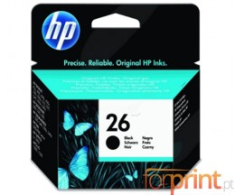 Tinteiro Original HP 26 Preto 40ml ~ 500 Paginas