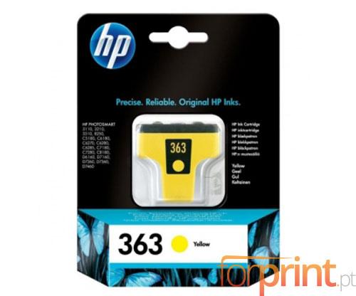 Tinteiro Original HP 363 Amarelo 6ml ~ 500 Paginas