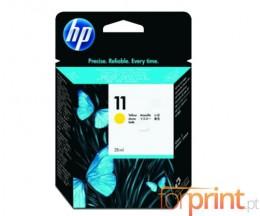 Tinteiro Original HP 11 Amarelo 28ml ~ 2.550 Paginas