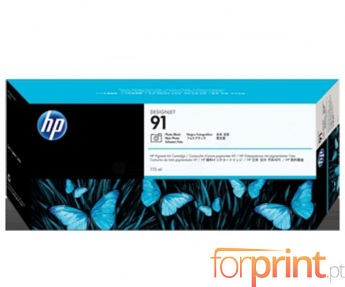 Tinteiro Original HP 91 Preto Foto 775ml