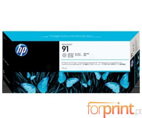 Tinteiro Original HP 91 Cinza Claro 775ml