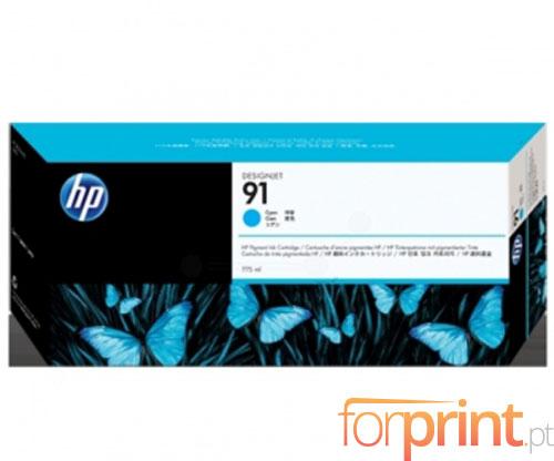 Tinteiro Original HP 91 Cyan 775ml