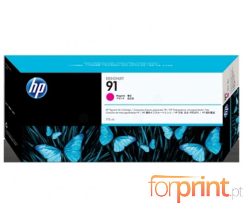 Tinteiro Original HP 91 Magenta 775ml