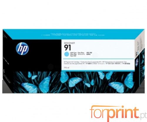 Tinteiro Original HP 91 Cyan Claro 775ml