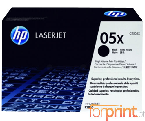 Toner Original HP 05X Preto ~ 6.500 Paginas