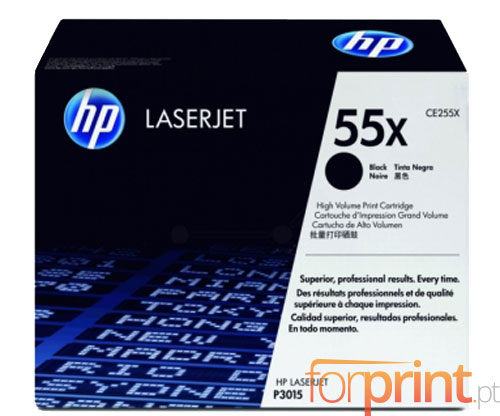 Toner Original HP 55X Preto ~ 12.500 Paginas