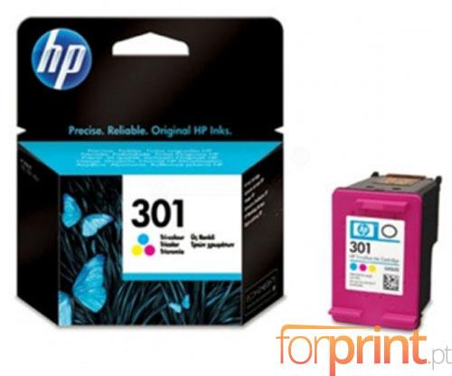 Tinteiro Original HP 301 Cor 3ml ~ 165 Paginas
