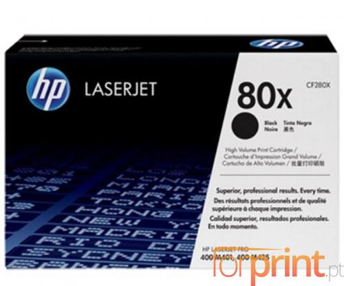 Toner Original HP 80X Preto ~ 6.900 Paginas