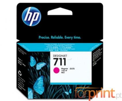 3 Tinteiros Originais, HP 711 Magenta 29ml