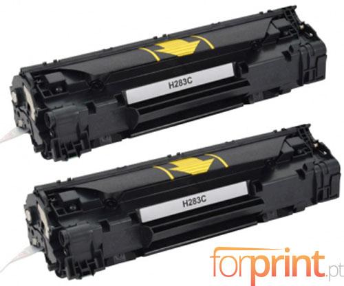2 Toners Compativeis, HP 83A Preto ~ 1.500 Paginas