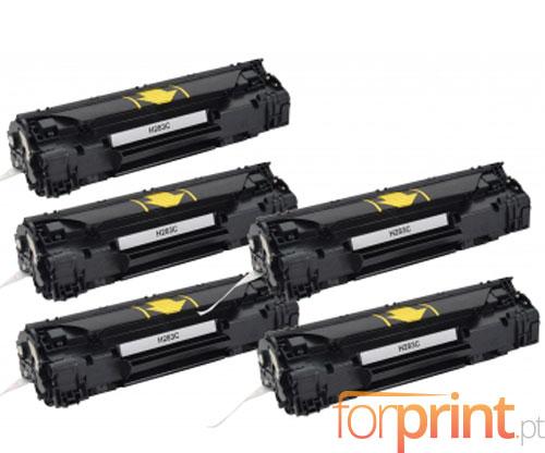5 Toners Compativeis, HP 83A Preto ~ 1.500 Paginas