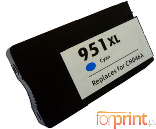 Tinteiro Compativel HP 951 XL Cyan 26ml