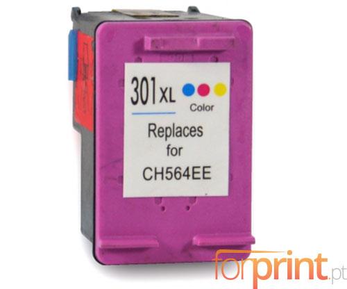Tinteiro Compativel HP 301 XL Cor 17ml