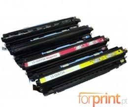 4 Toners Compativeis, HP 308A Preto + HP 309A Cor ~ 6.000 / 4.000 Paginas