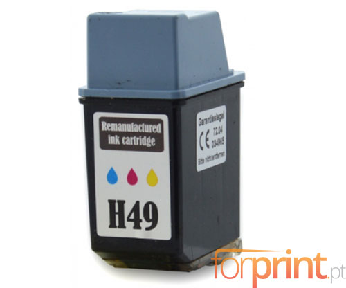 Tinteiro Compativel HP 49 Cor 21ml